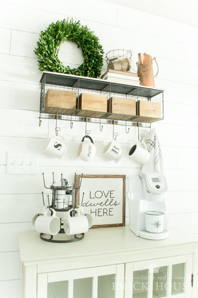 20 Coffee Station Ideas To Light Up Your Day - Craftsonfire on rustic kitchen granite, rustic kitchen restaurant, rustic kitchen sink, rustic kitchen living room, rustic kitchen buffet, rustic kitchen fireplace, rustic kitchen island, rustic kitchen desk,