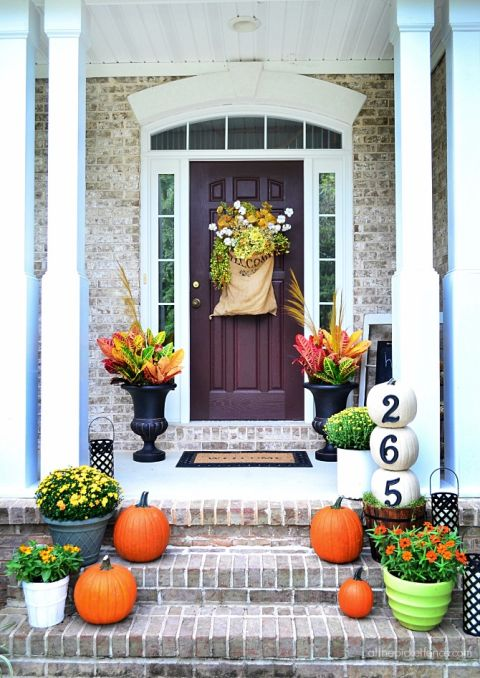creative fall ideas 15 fall porch decorating ideas everyone will love crafts on fire