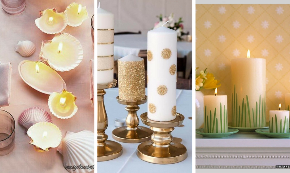 decorated candle ideas & 17 DIY Decorated Candle Ideas Youu0027ll Love - Craftsonfire