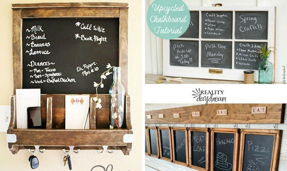 20 best diy chalkboard projects that are quick and easy to make diy chalkboard projects solutioingenieria Choice Image