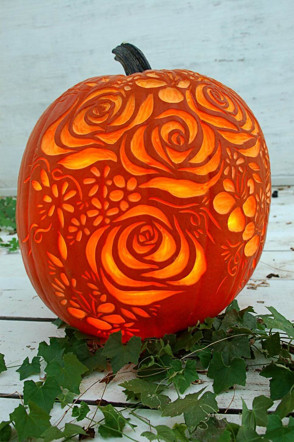 15 DIY Pumpkin Carving Ideas (Part 1)