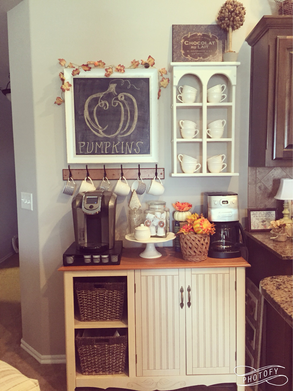 Fall Coffee Station