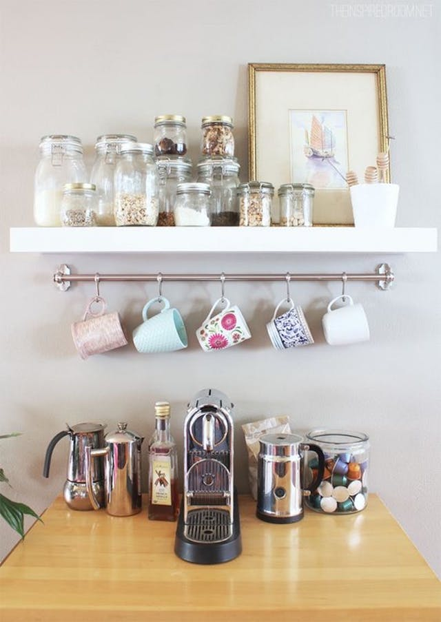 15 Charming DIY Coffee Station Ideas for All Coffee Lovers