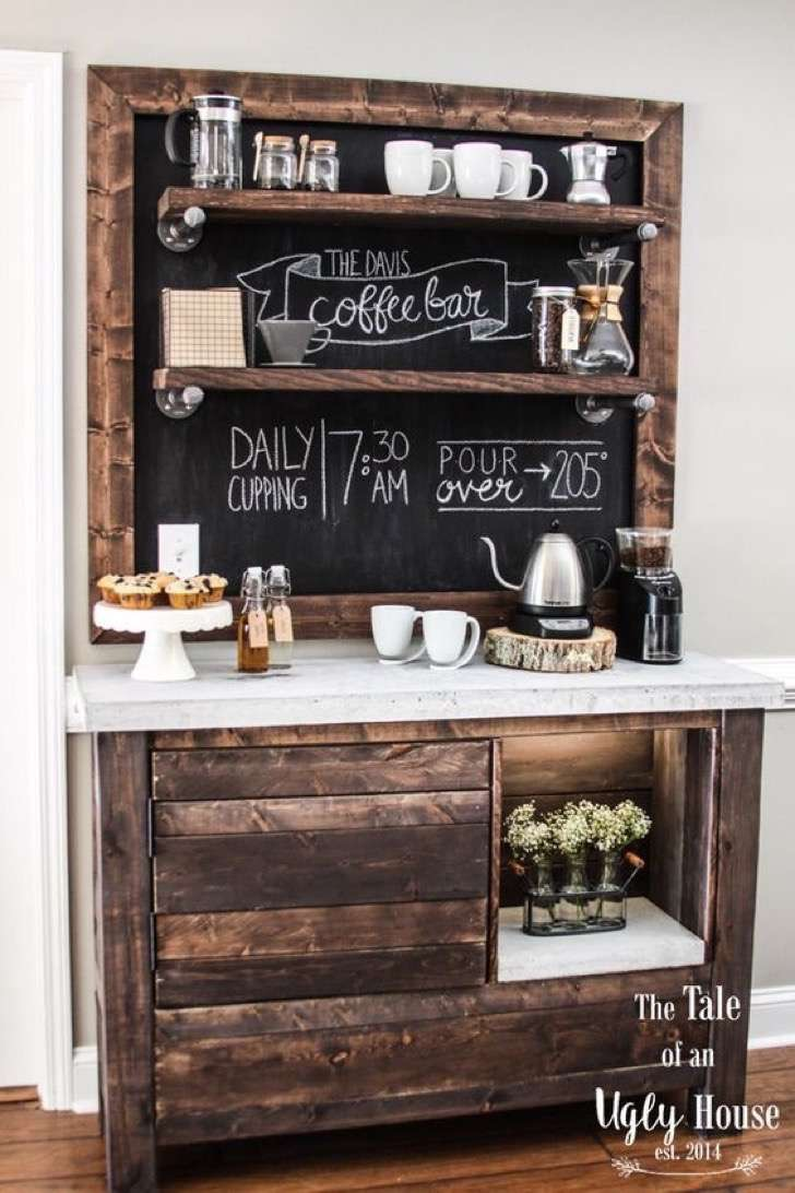 20 Coffee Station Ideas To Light Up Your Day Craftsonfire