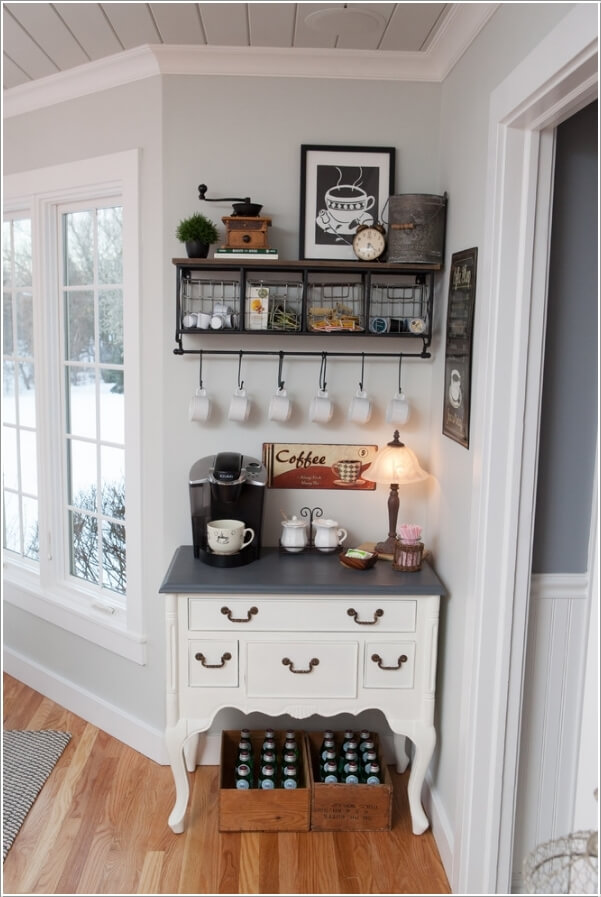 20 coffee station ideas for your home decor - craftsonfire