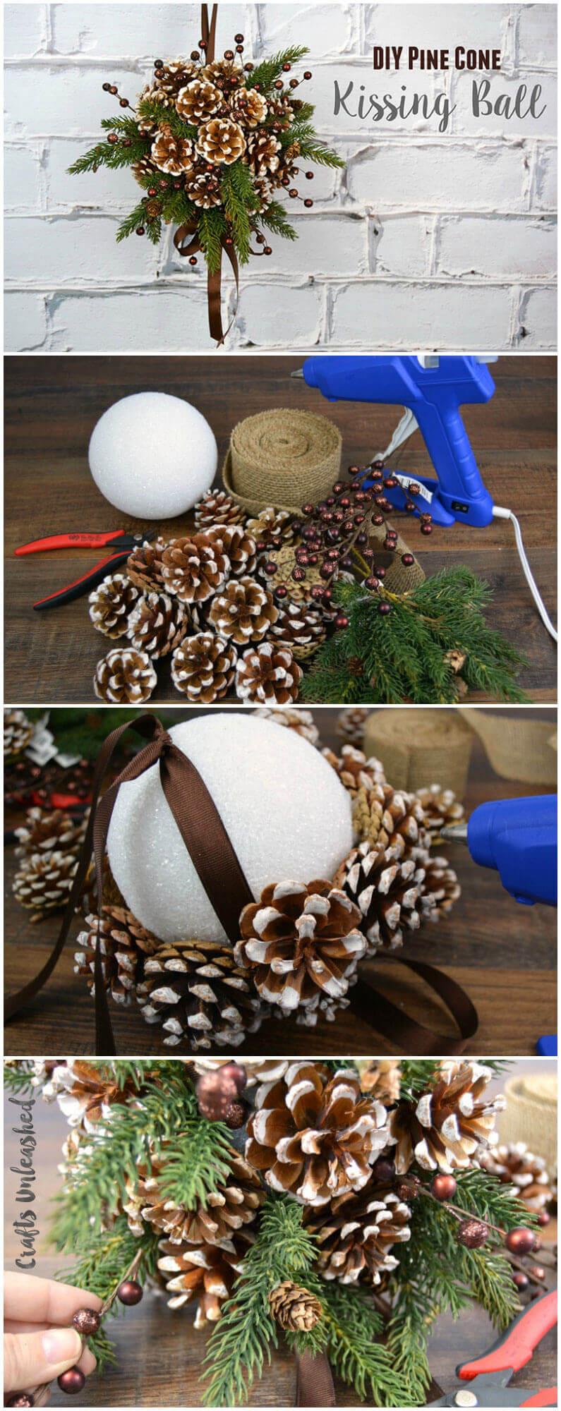 21 Best DIY Pine Cone Craft Ideas - Homemade Christmas ...