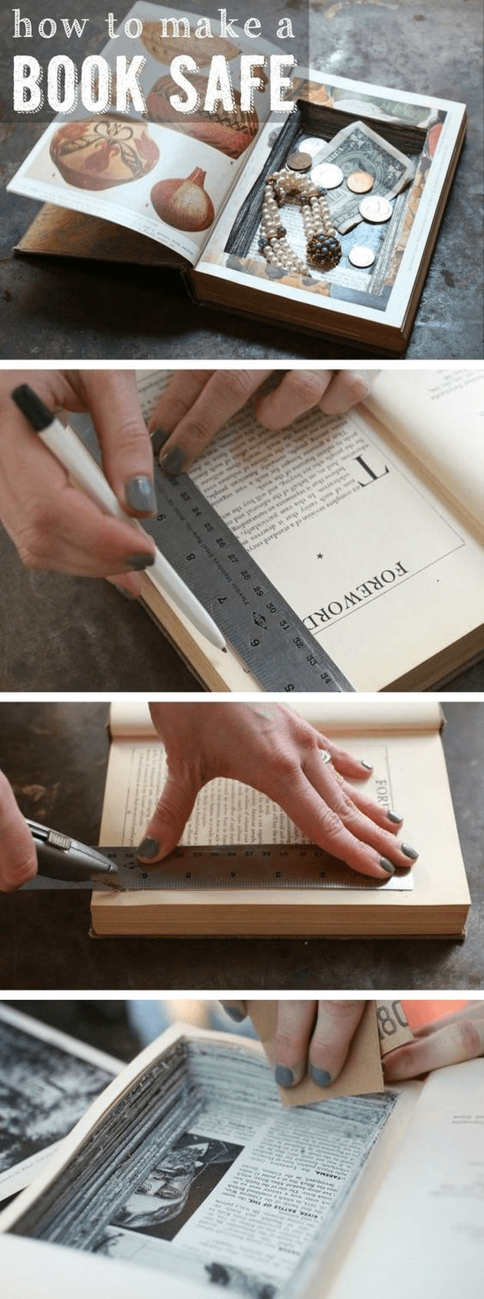 14 Unique Diy Project Ideas To Repurpose Old Books Style Motivation