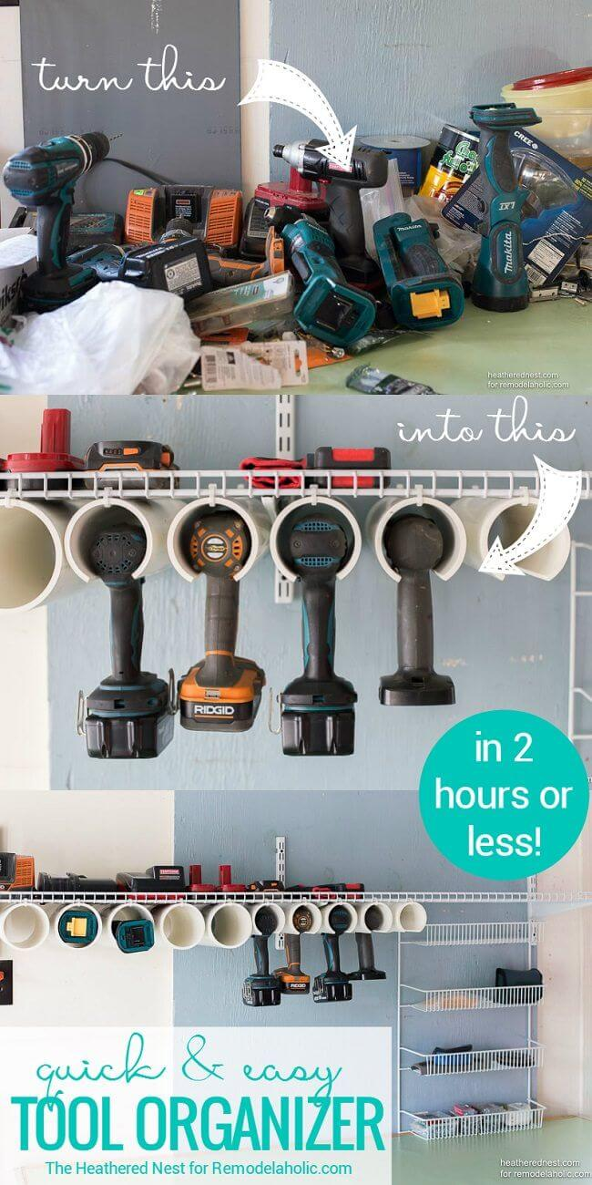 15 Brilliant Ways to Organize Your Garage