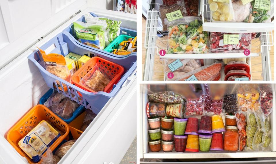 Organize Freezer Ideas