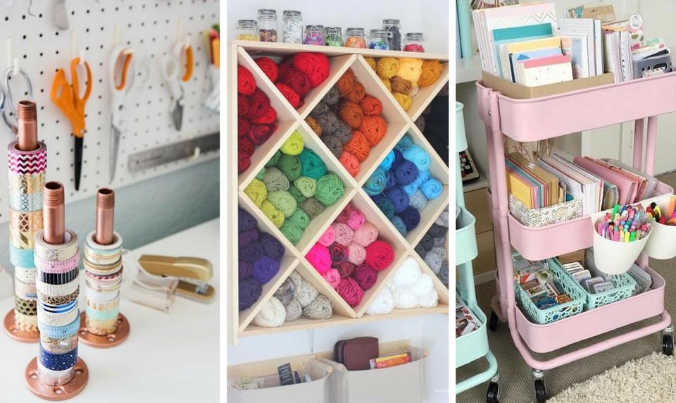 10 Best Craft Room Organization Ideas Worth Stealing Craftsonfire