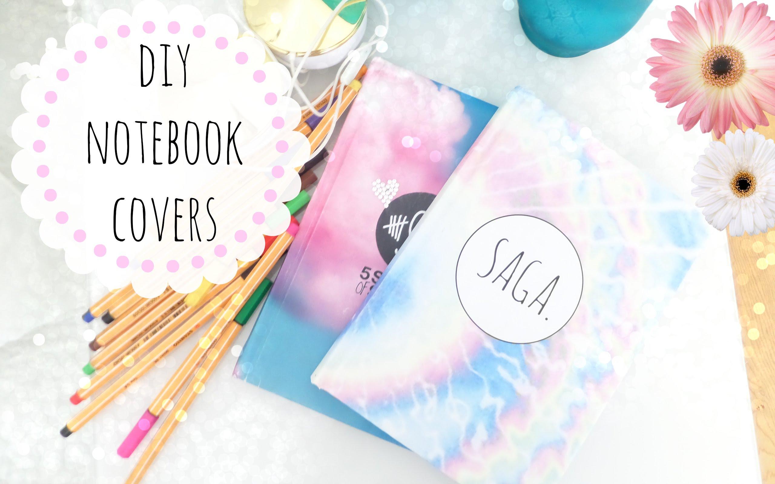 15 Customizable DIY Notebook Covers (Part 2)