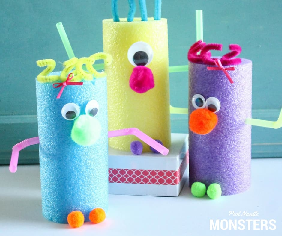 13 Creative Pool Noodle Crafts