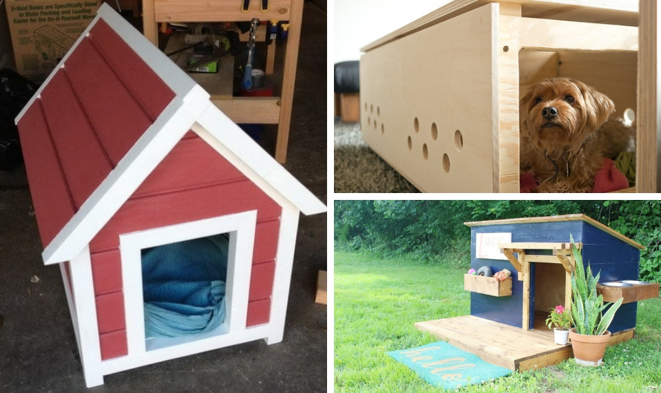 15 Diy Dog Houses Your Furry Friends Will Love Craftsonfire