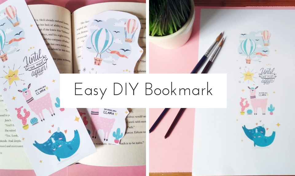 How To Make Customizable Diy Bookmarks In Minutes Craftsonfire