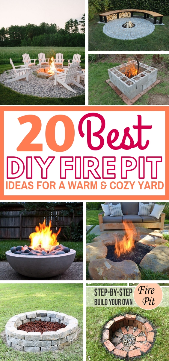 20 Amazing Diy Fire Pit Ideas For A Warm And Romantic Yard Craftsonfire