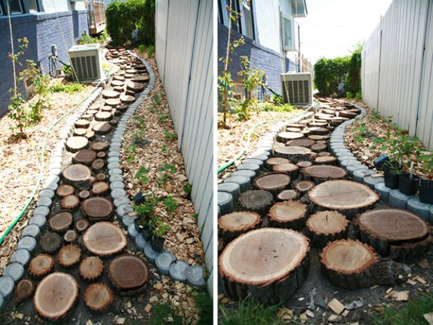 16 Amazing DIY Garden Path and Walkways Ideas