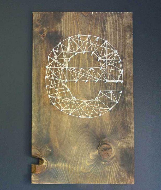 14 Outstanding DIY Monogram Letters