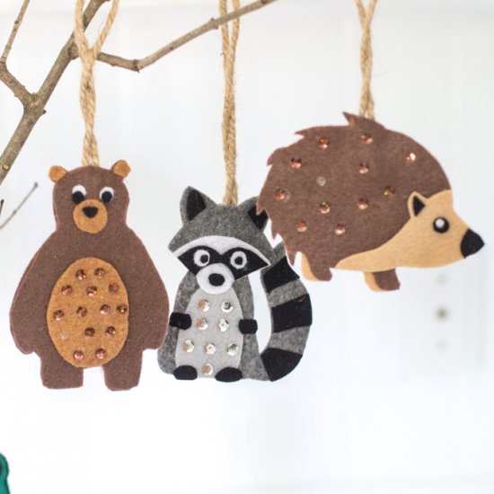 20 DIY Felt Craft Projects (Part 1)