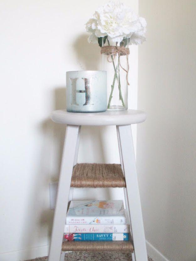 15 DIY Bedroom Nightstand Ideas