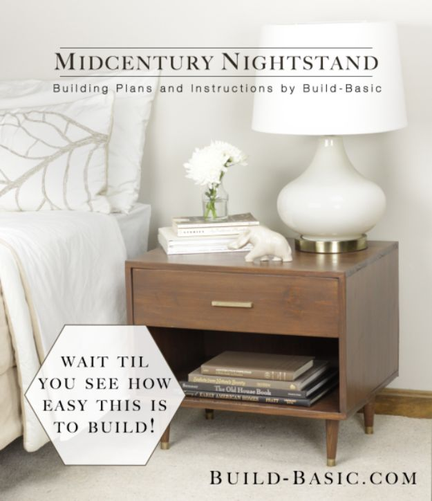 15 Diy Bedroom Nightstand Ideas Style Motivation