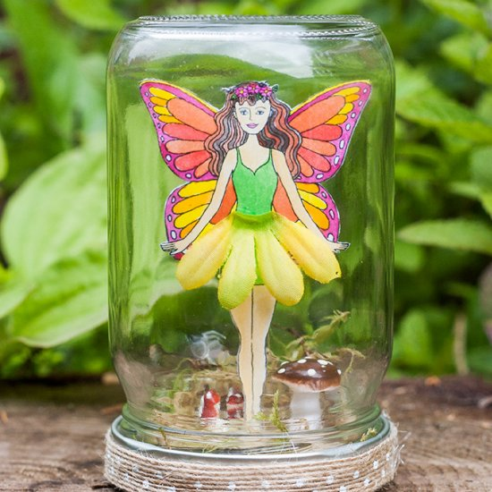 15 DIY Ideas How to Make Magical Fairy Crafts For Your Home