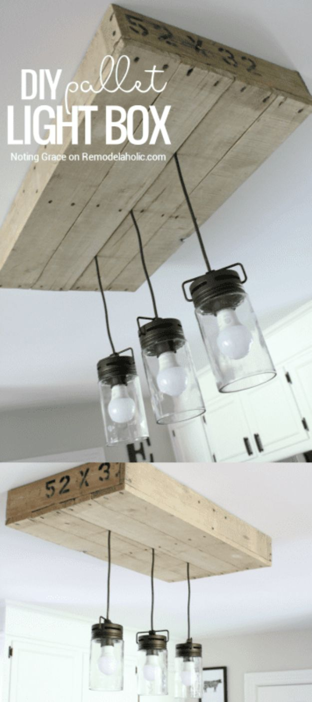 Creative DIY Light Fixtures