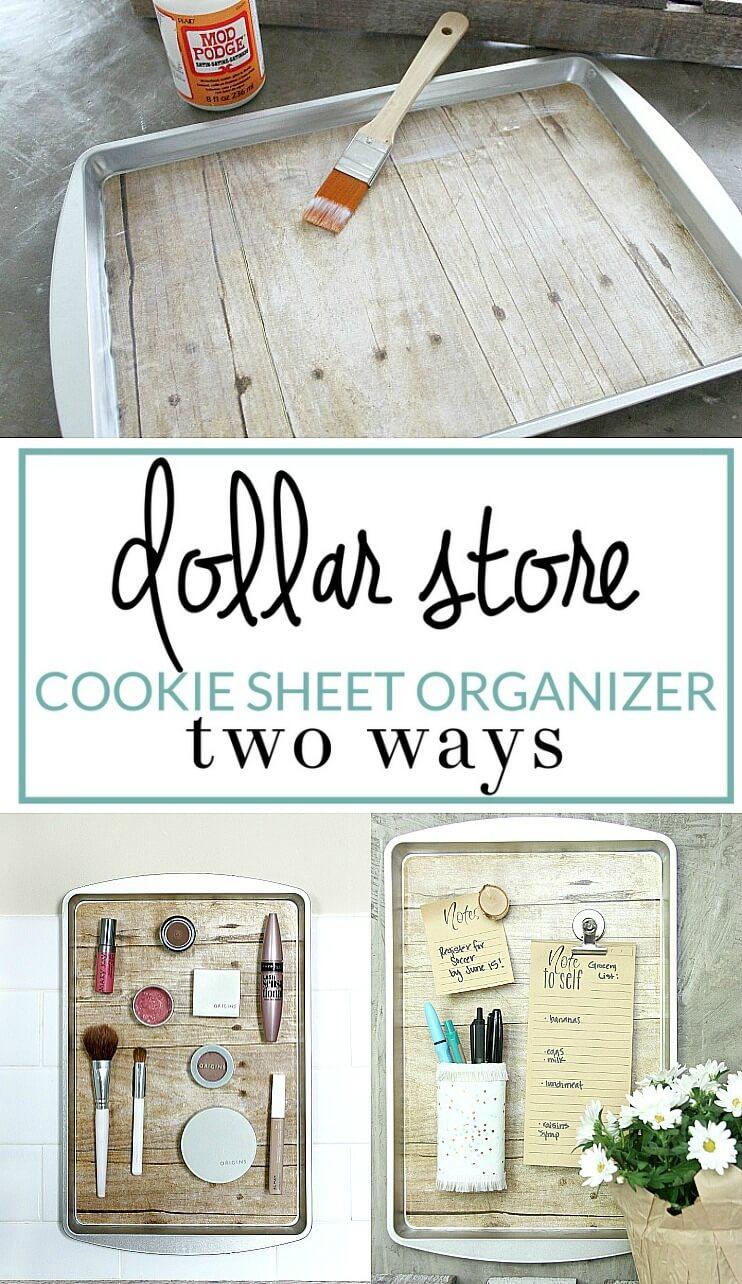 13 DIY Dollar Store Home Decor Ideas